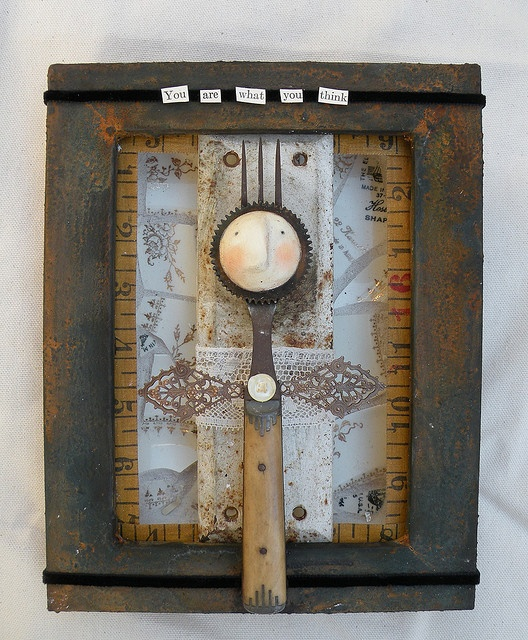 ? Artistic Assemblages ?  Mixed Media & Collage Art -