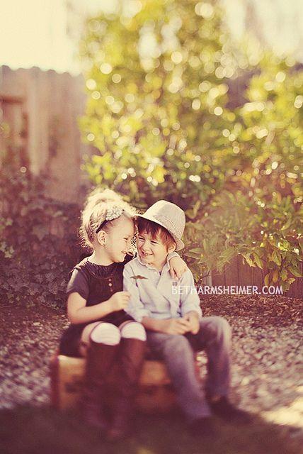 So cute siblings