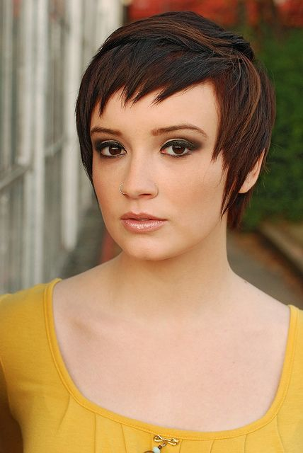 Super cute short haircut