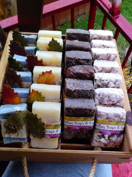 Organic Natural Soap Bars Handmade