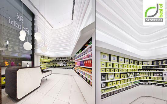 GROCERIES! Patchi store by Lautrefabrique Architectes, Beirut   Lebanon store design