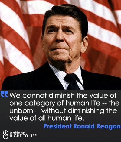 Wise words from a wise man. #prolife