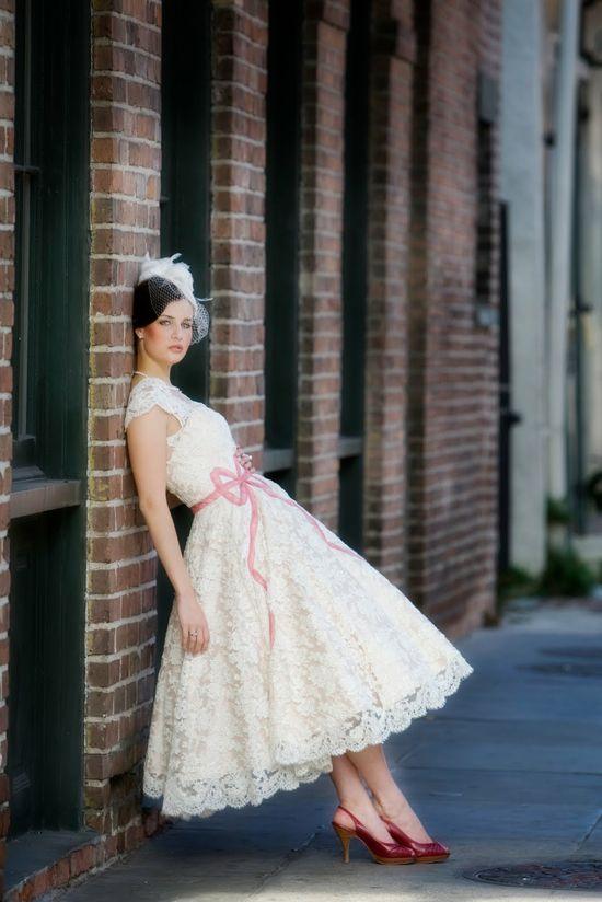 Short dress!