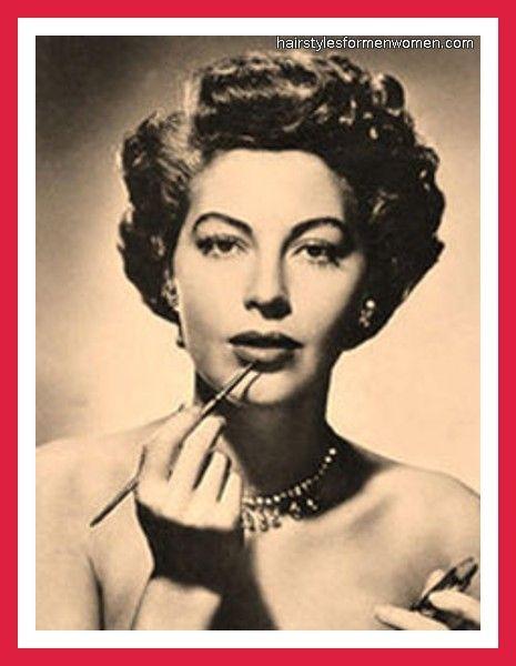 1940s short hair style