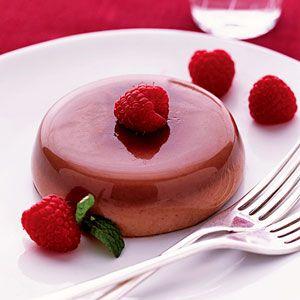 Decadent Dessert: Chocolate Panna Cotta