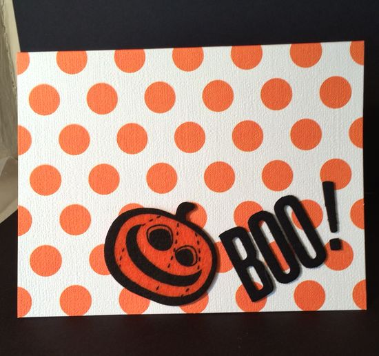 Handmade Halloween Card By Sonya Fedele