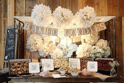 """While candy buffets are all the rage at the moment, they can be on the expensive side, especially if you are serving high quality candy or chocolate. For a DIY party, a cupcake or cookie buffet is a """"sweet"""" alternative."""