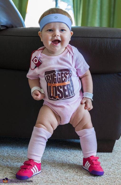 The Biggest Loser - cute baby costume idea!