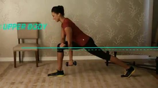 3-Minute Workout: Low Row