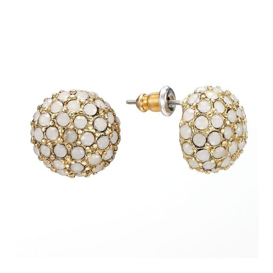 wear these earrings a lot {lc lauren conrad collection}