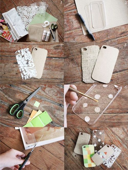 Make Your Own i-Phone Case