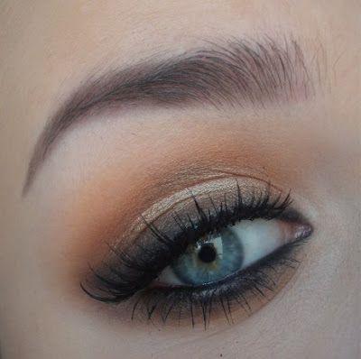 love this brown smokey eye. must try!