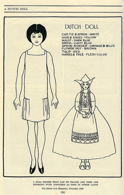 A lovely bob haircut adorned 1920s paper doll.  #paper #dolls #vintage #toys #kids #cute #1920s #twenties