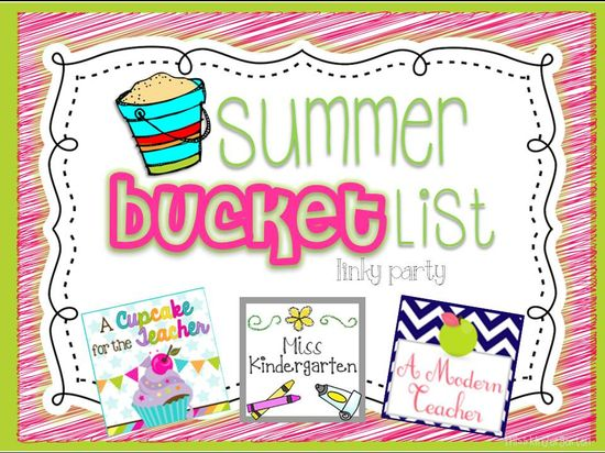 Summer Bucket List Linky!