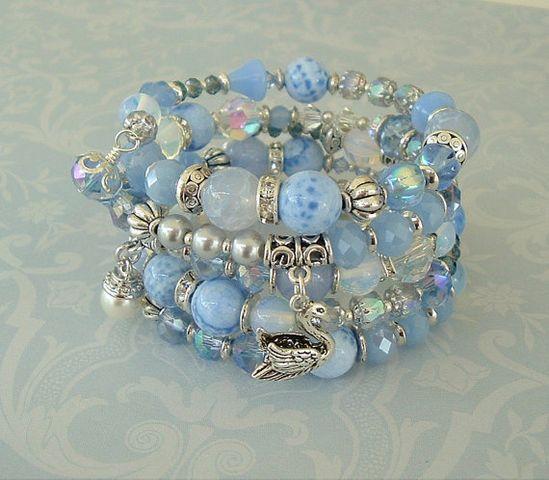 Boho Bracelet Bohemian Style Boho Chic Artisan by BohoStyleMe