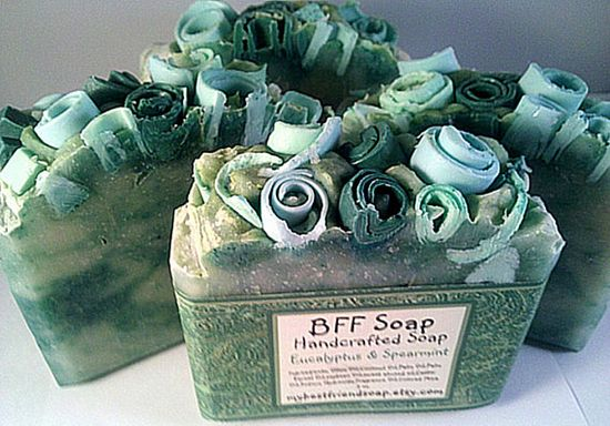 Beautiful handmade soap for your bathroom
