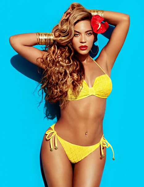Beyonce Flaunts her amazing bikini body in sexy new H campaign
