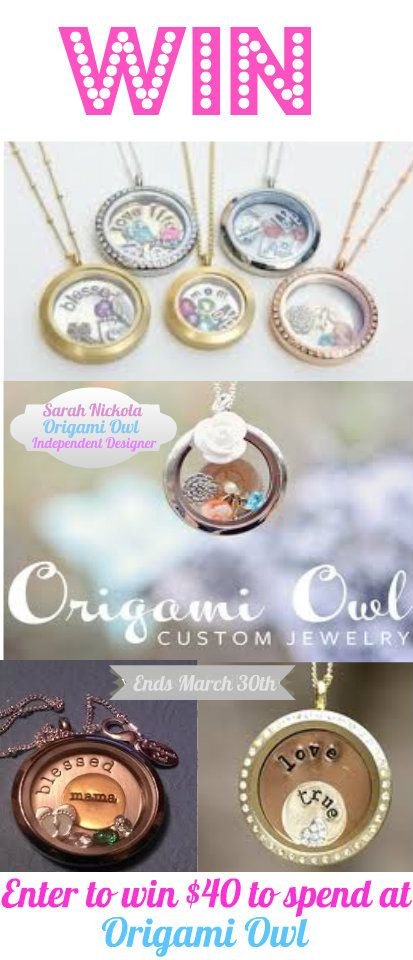 Check out this great Origami Owl giveaway!