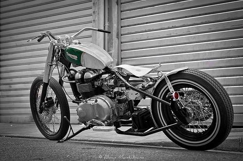 Triumph bobber.