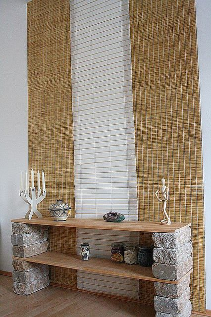 i like these DIY shelves  #home #decor
