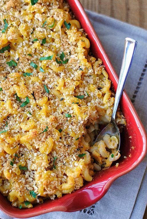 Creamy Butternut Squash Macaroni & Cheese