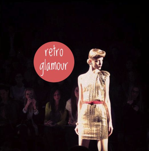 love this 2012 fall trend - retro glamour