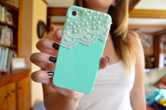 lace & mint iphone case. ?