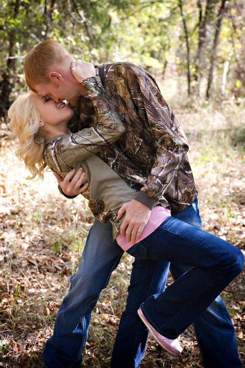 Camo Engagement Picture