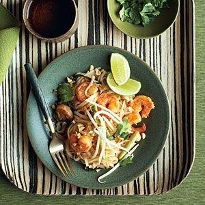 Sunset Magazine - Shrimp Pad Thai Recipe