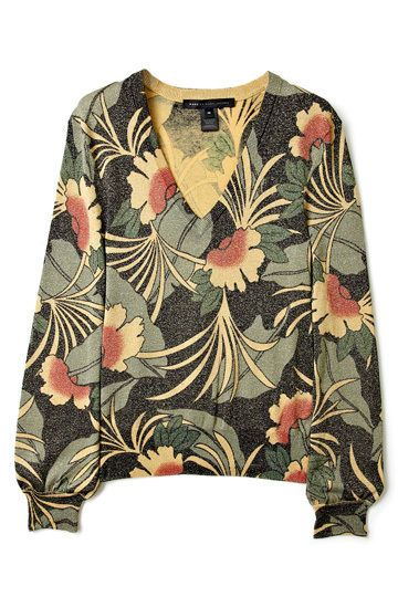 Marc by Marc Jacobs vintage inspired floral sweater