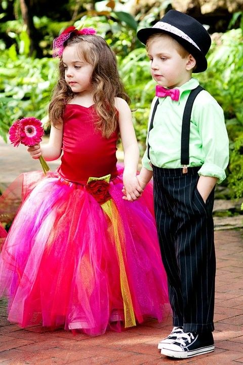 Flower Girl Tutu and Top by BellaBeanCouture on Etsy, $135.00