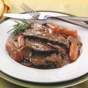 Beef Roast with Gravy...we love this in our house, the meat is so juicy.