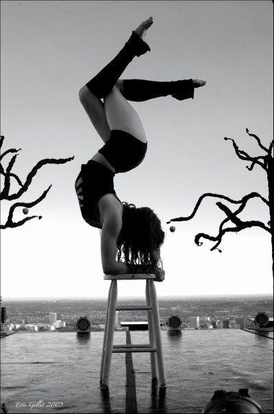yoga pose...