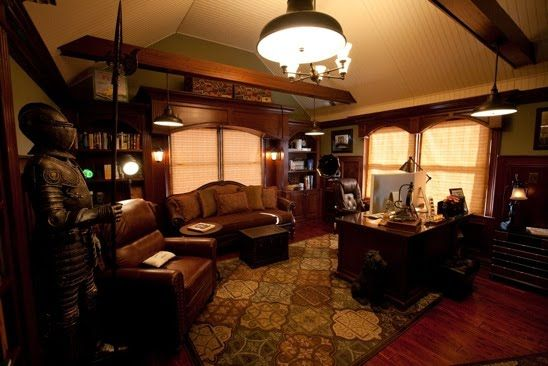 The Steampunk Home: Ed's Office Tour