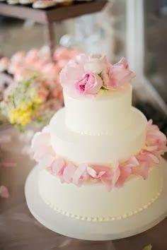 Romantic Wedding Cake Designs 2014
