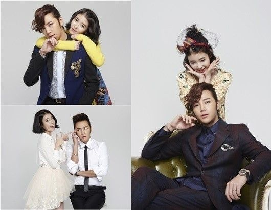'Pretty Boy' Jang Keun Suk & IU, Couple Photo Shoot More: www.kpopstarz.com...