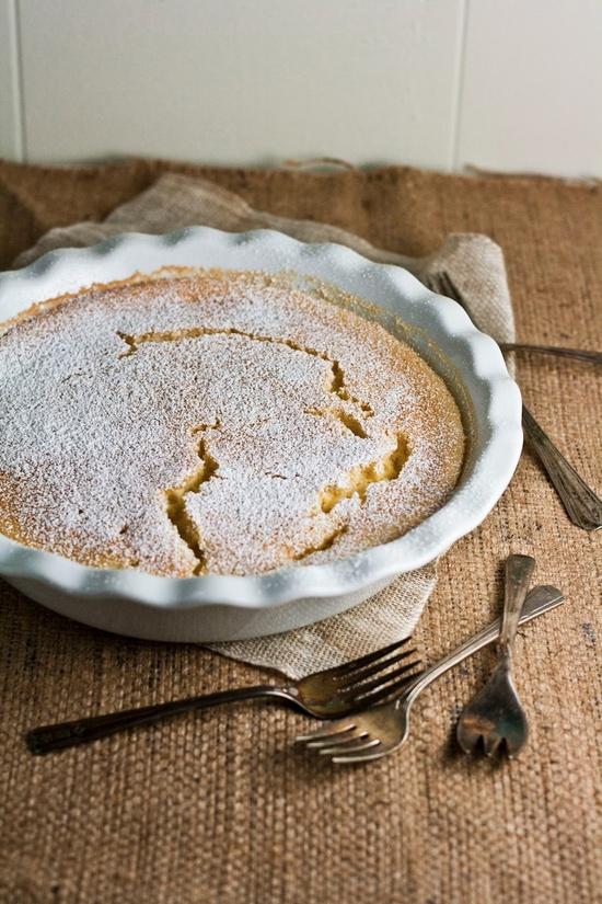 Hummingbird High: Meyer Lemon Pudding Cake