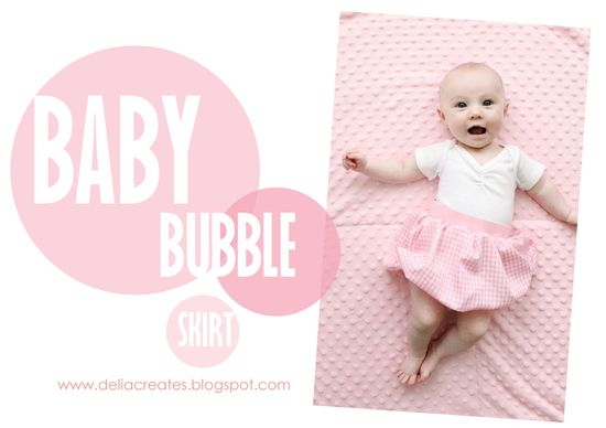 baby bubble skirt