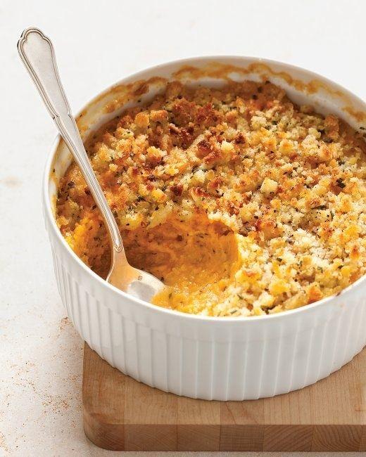 Sweet Potato & Sage Butter Casserole