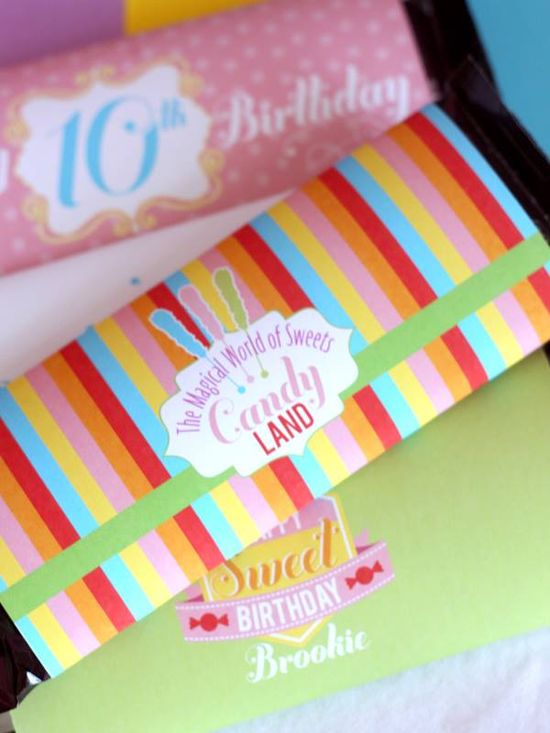 Candyland party ideas by Wants & Wishes