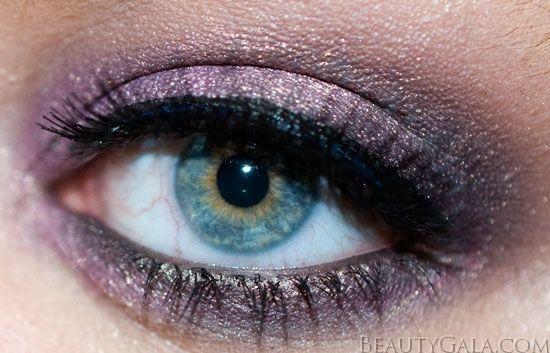 """""""African Violet"""" Eye Makeup Look"""