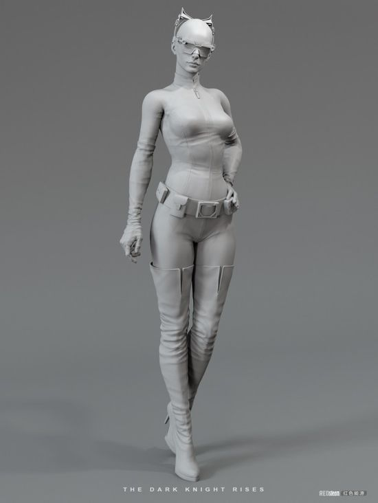 3D characters by U RI SO