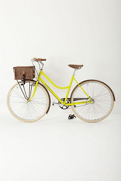 Signal Cycles Picnic Bike. The picnic basket is so cute! #anthrofave