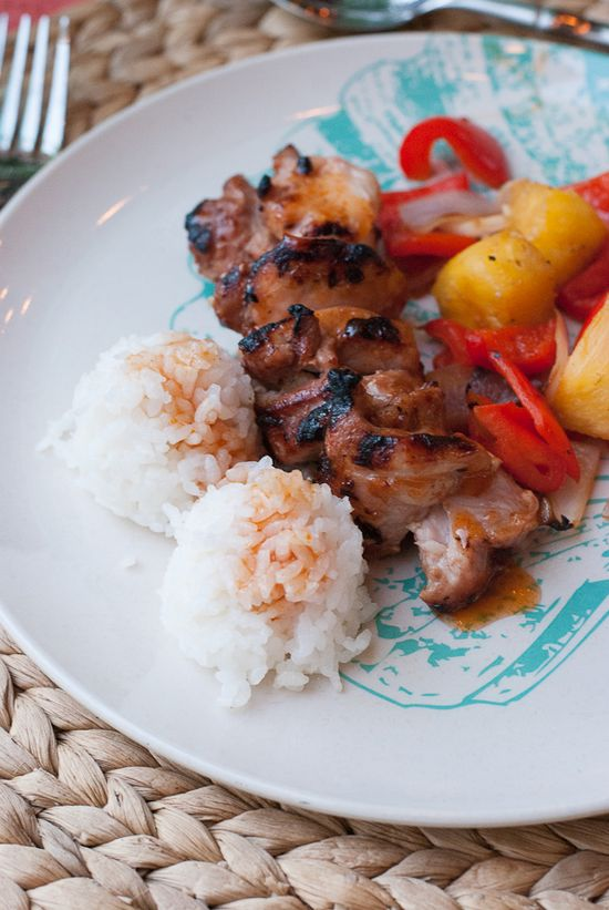 Mango Colada, Easy Coconut Sticky Rice & Sweet & Sour Guava Chicken Recipe www.pineappleandc... >> #WorldMarket Global Gourmet