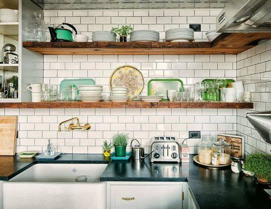 #INDUSTRIAL #STYLE #KITCHEN #interior #design FROM blog.coldwellbank... #47parkavenue