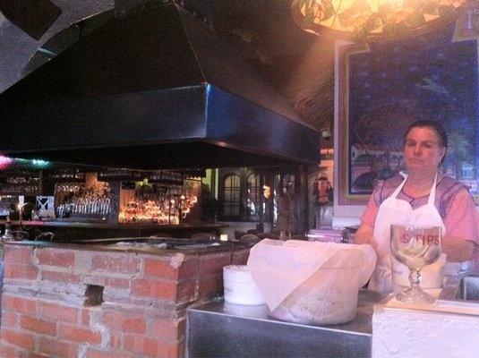 Handmade tortillas at Casablanca in Venice, CA.