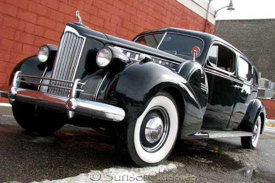 1940 Packard Super 8 #classic #car