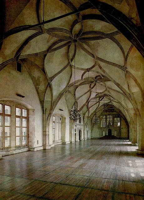 Vladislav Hall in Prague Castle.  Mmm.