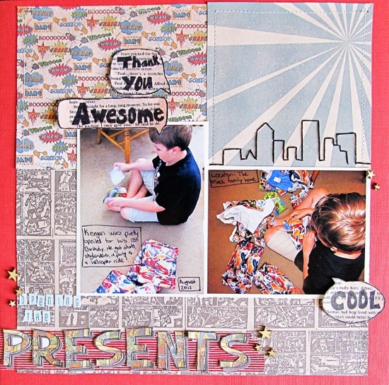 Ideas for Creating Scrapbook Pages with Elements from Book Pages