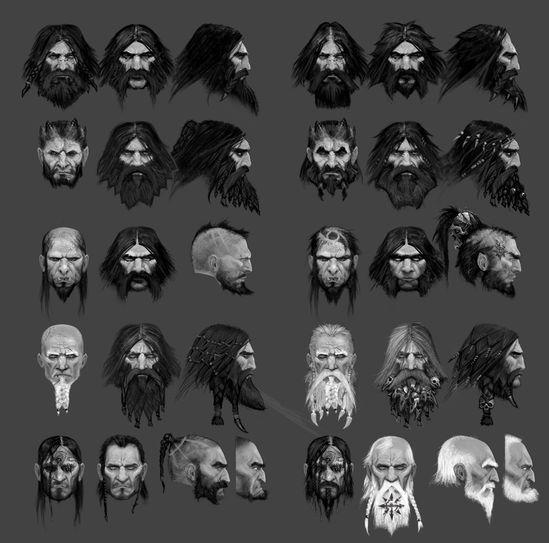 Chaos - Tzeentch: Head Variants www.facebook.com/...
